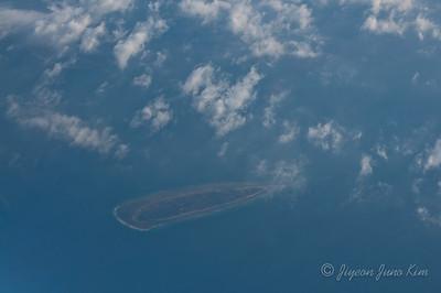 Flight in Indonesia - Island