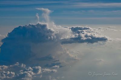 Flight in Indonesia - Clouds