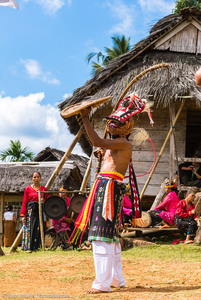 Melo Village in Flores Island, Indonesia