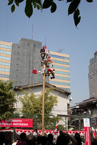 Panjat pinang, Jakarta