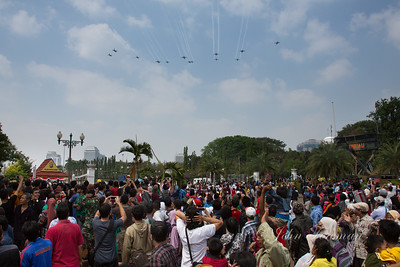 70th Anniversary of Independence, Jakarta