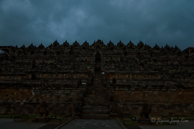 Borobudur temple  overview