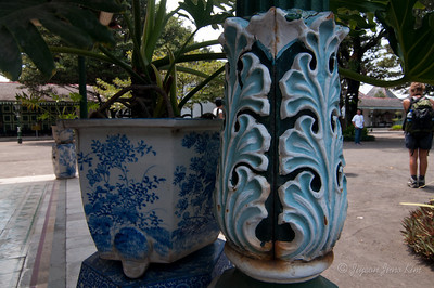 Details at Sultan's Palace in Yogyakarta (Jogjakarta), Indonesia