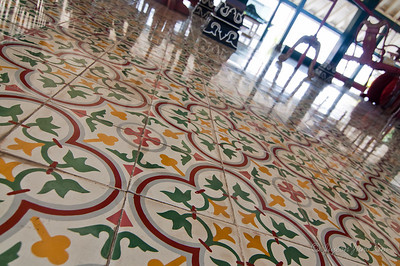 Tiles at Sultan's Palace in Yogyakarta (Jogjakarta), Indonesia