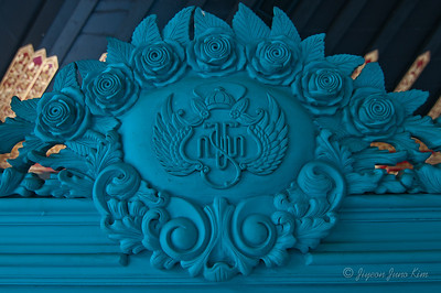 at Sultan's Palace in Yogyakarta (Jogjakarta), Indonesia