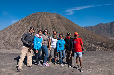 Hiking Mt Bromo with team #Travel2Indonesia