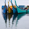 The colorful and unique design of the Banda Aceh  region fishing boats.