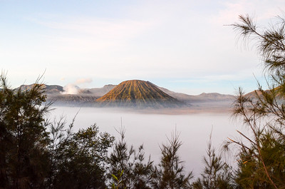Mount Bromo at dawn