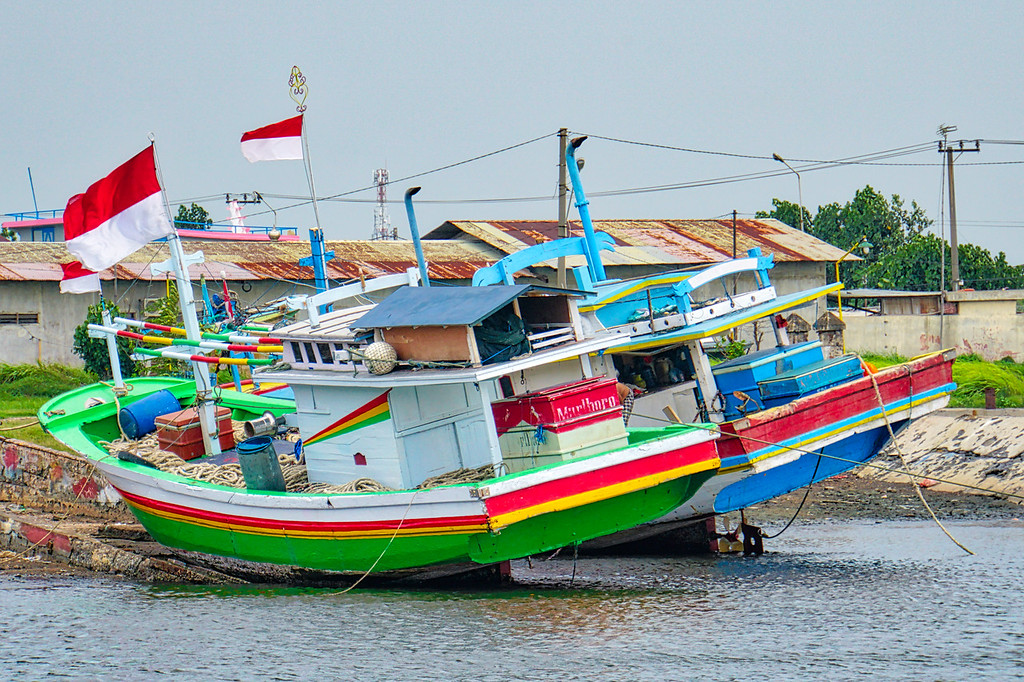 Probolinggo Boats in Harbor