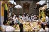 Ceremony in Ubud, Bali, Indonesia