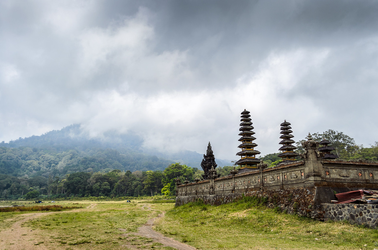 Temple on Tamblingan Lake