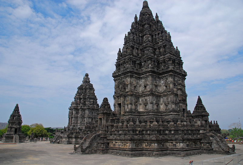 Shiva Mahadeva, Prambanan Temple complex,  Java