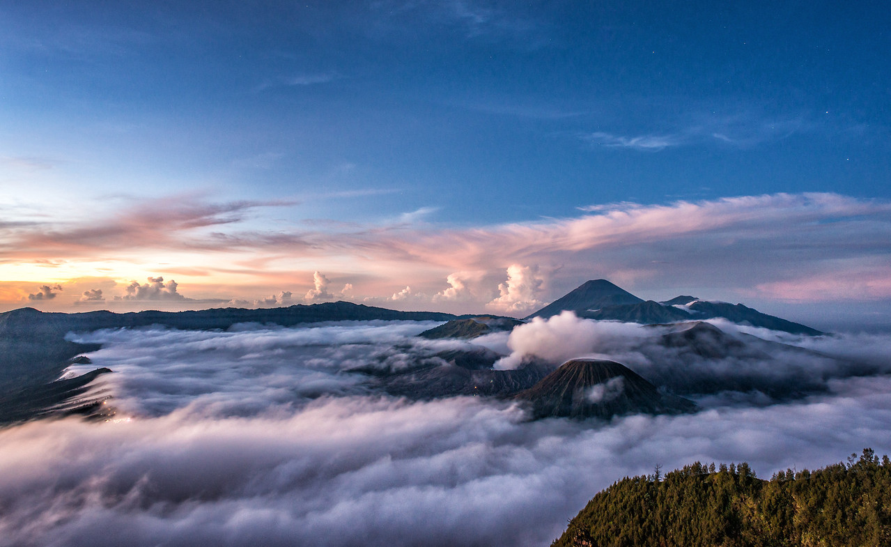 Early Morning at Mount Bromo