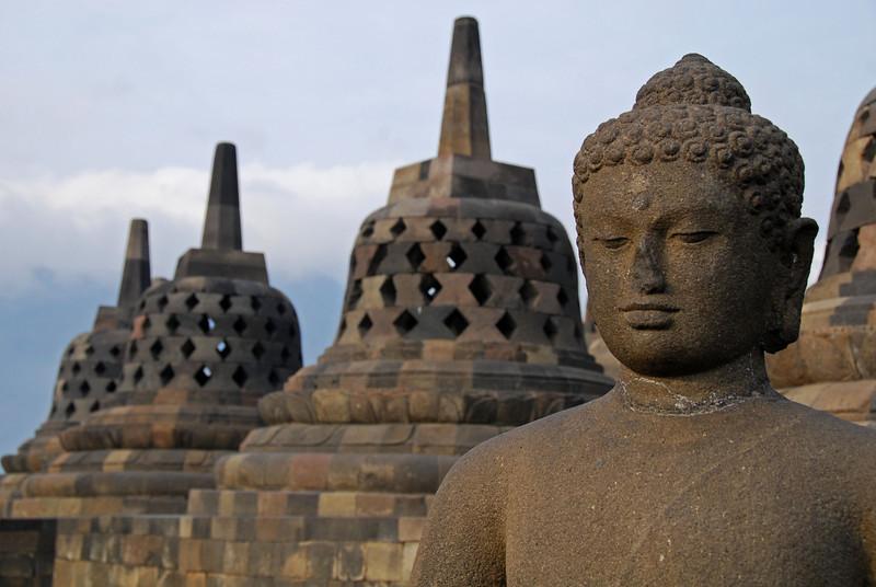Borobudur Temple,  Java