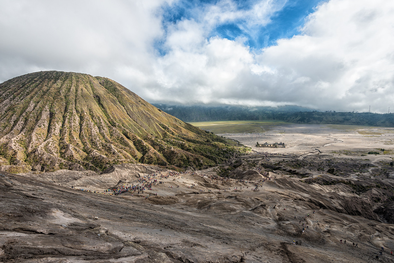 View from the Crater Rim, Mount Bromo