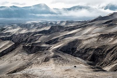 The Barren Slopes of Mount Bromo