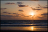 Sunset over Kuta Beach, Bali, Indonesia