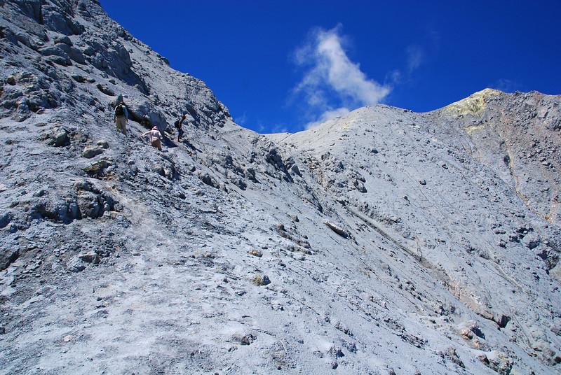 Gunung Egon.  Active Volcano.  Flores