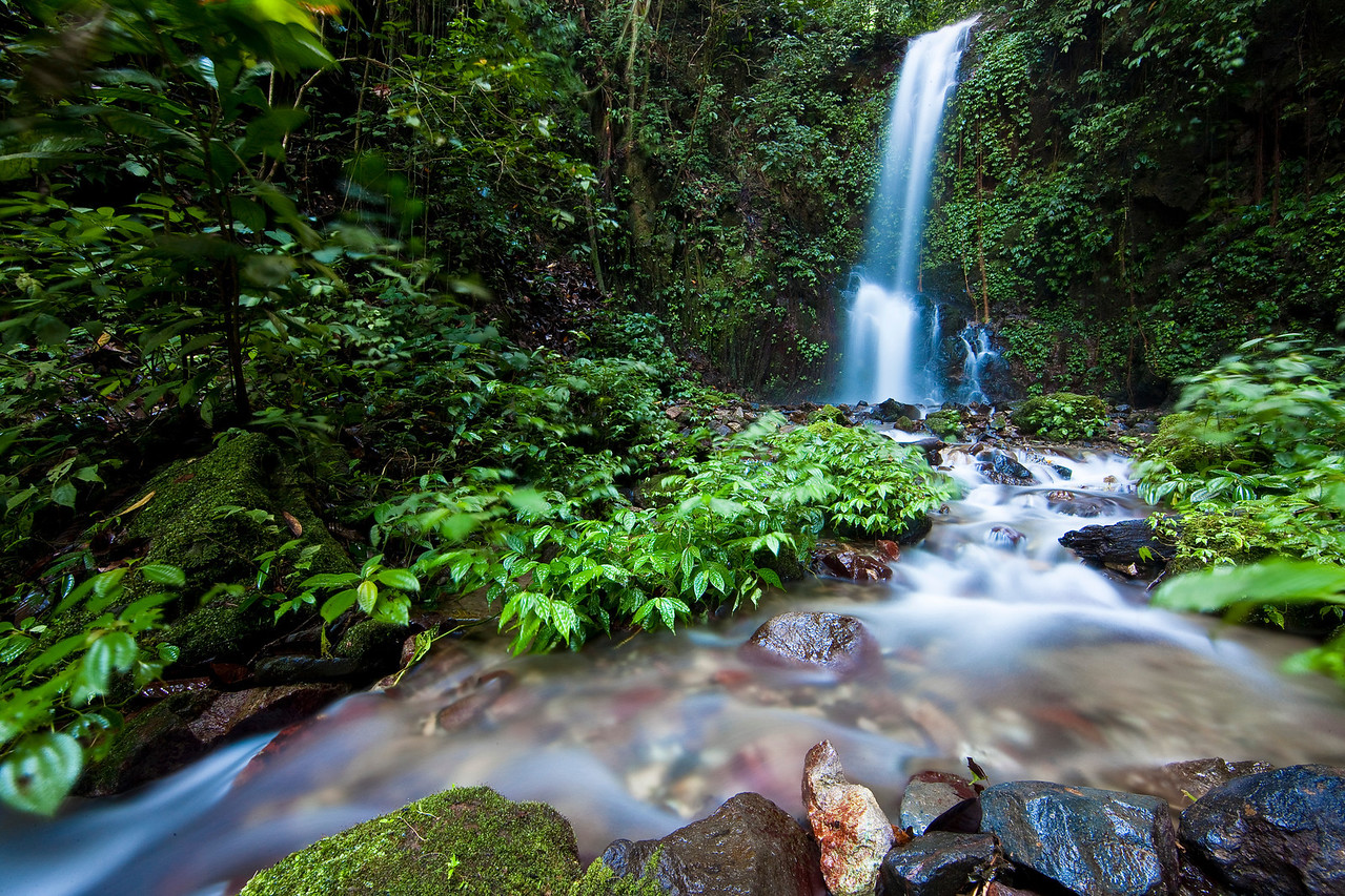 This waterfall near Lake Maninjau was off the beaten path. A local told us how to find it, and the directions were amazingly accurate. What a little treasure in the jungle.