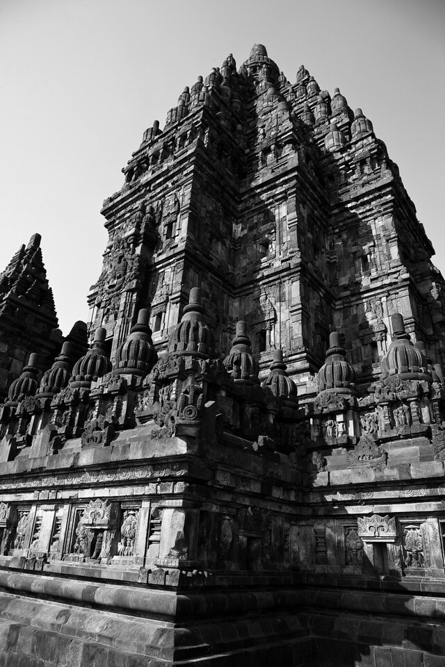 Prambanan, a 9th-century temple only a motorcycle ride from Yogyakarta.