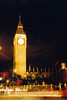 La Torre del Big Ben de noche