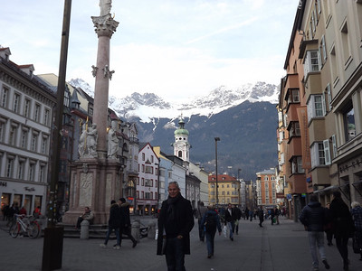 Innsbruck, Austria - January, 2014
