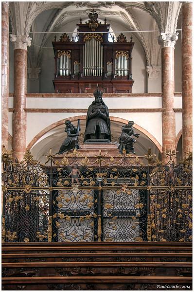 Maximilian I's  Cenotaph