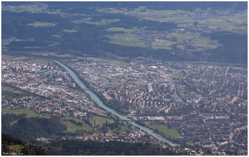 Inn River and Innsbruck