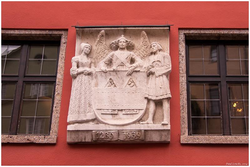 Wall Sculpture in Altstadt