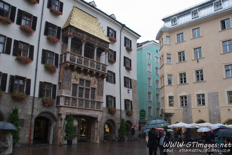 Innsbruck, Austria - Goldenes Dachl.