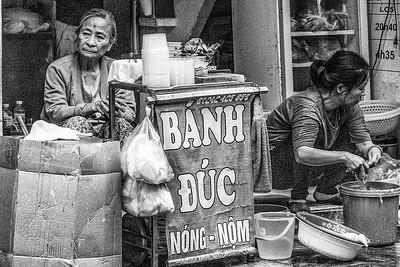 Hanoi street scene street scene