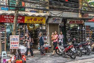 Hanoi street scene