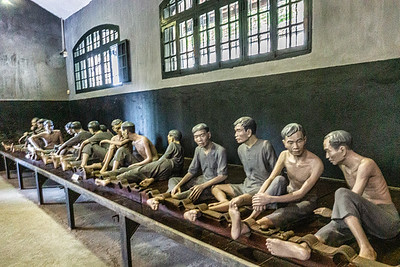 Depiction of how prisoners were treated in the Hanoi Hilton