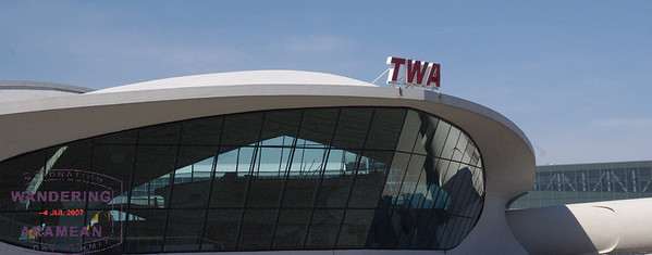 A trip back in time: Inside the TWA Flight Center at JFK