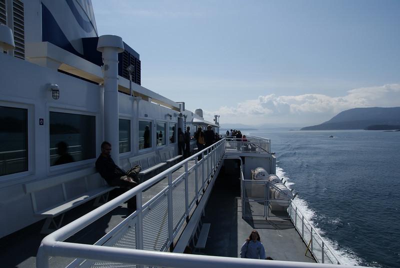 Outer decks.