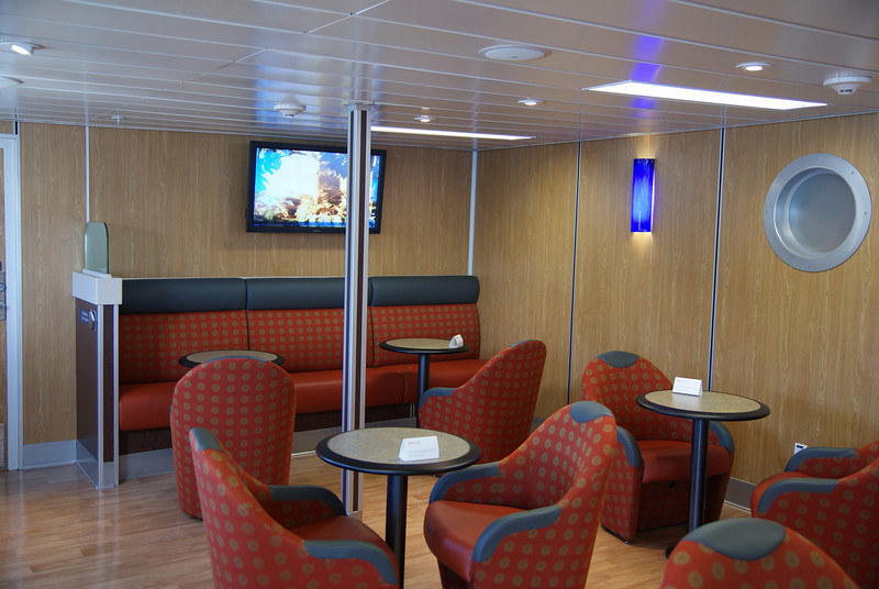 Inside the Seawest lounge.