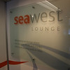 Sign outside the Seawest lounge.