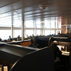 Work desks on the upper level.