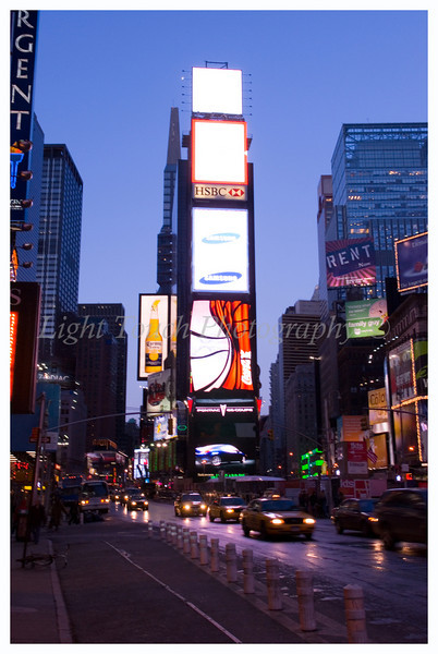 New York City in February of 2007. This is Times Square, I've been here so many times but never shot pictures. It was about 16 degrees out so my fingers were not having fun.
