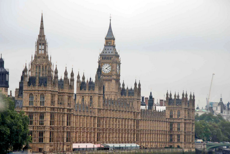 The Palace of Westminster, home of Parliament.