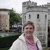Jean at the Tower of London.