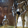 Armor of the dwarf (a young boy 37 inches tall) and the giant (6 feet 8 inches tall).