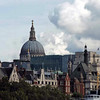 A view of St. Paul's from the Thames.