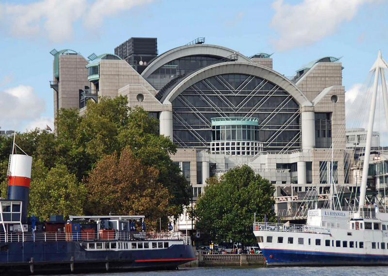 Charing Cross Railway Station.