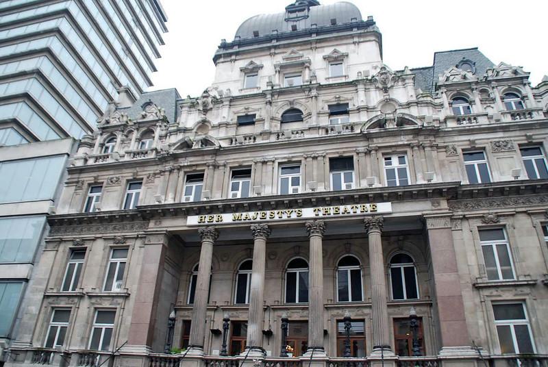 Her Majesty's Theatre.