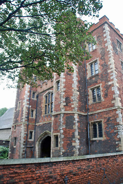 Lambeth Palace is the official residence of the Archbishop of Canterbury.