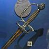 Small sword., ca 1712.