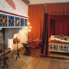 Edward I's bedchamber in the Tower of London.