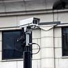 Security cameras everywhere.