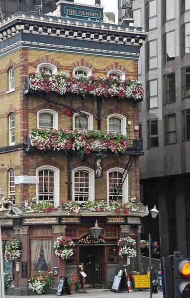 The Albert Tavern on Victoria Street, London, dates from 1864.